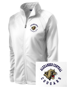 Alexander Central High School Cougars Embroidered Women's Tricot Track Jacket