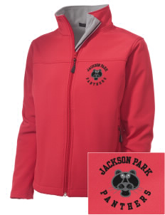 Jackson Park Elementary School Panthers Embroidered Women's Soft Shell Jacket