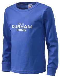 Durham School Bulldogs  Kid's Long Sleeve T-Shirt