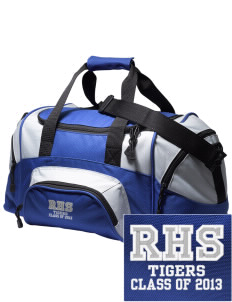 Ragsdale High School Tigers Embroidered Small Colorblock Duffel