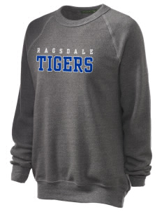 Ragsdale High School Tigers Unisex Alternative Eco-Fleece Raglan Sweatshirt