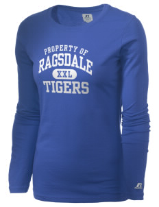 Ragsdale High School Tigers  Russell Women's Long Sleeve Campus T-Shirt