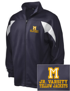Matthews Elementary School Yellow Jackets Embroidered Holloway Men's Full-Zip Track Jacket