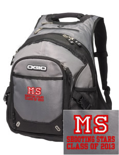 Mary Stark Elementary School Shooting Stars Embroidered OGIO Fugitive Backpack