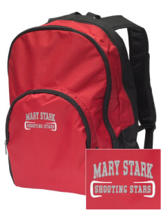 Mary Stark Elementary School Shooting Stars Embroidered Value Backpack
