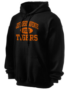 Jefferson Avenue Elementary School Tigers Ultra Blend 50/50 Hooded Sweatshirt