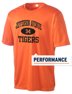 Jefferson Avenue Elementary School Tigers Men's Competitor Performance T-Shirt
