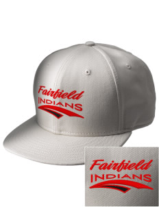 Fairfield High School Indians  Embroidered New Era Flat Bill Snapback Cap