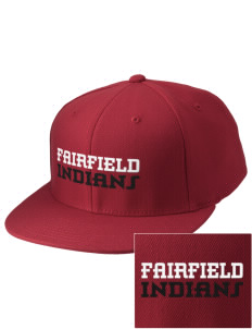 Fairfield High School Indians Embroidered Diamond Series Fitted Cap