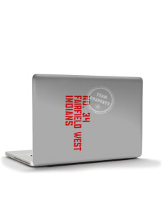 "Fairfield West Elementary School Indians Apple MacBook Air 13"" Skin"