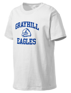 Grayhill Elementary School Eagles Kid's Lightweight T-Shirt