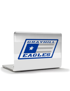 "Grayhill Elementary School Eagles Apple Macbook Pro 17"" (2008 Model) Skin"