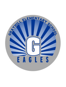 Grayhill Elementary School Eagles Sticker