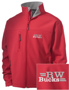 Buckeye West Elementary School Bucks Embroidered Men's Soft Shell Jacket