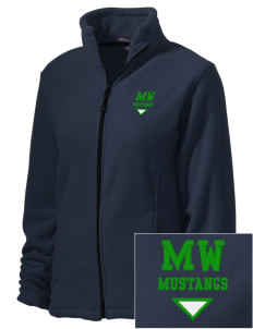 Mount Washington Elementary School Mustangs Embroidered Women's Wintercept Fleece Full-Zip Jacket