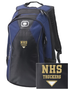 Norwalk High School Truckers Embroidered OGIO Marshall Backpack