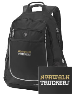 Norwalk High School Truckers Embroidered OGIO Carbon Backpack
