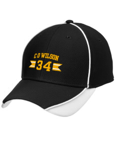 C O Wilson Middle School Bullpups Embroidered New Era Contrast Piped Performance Cap