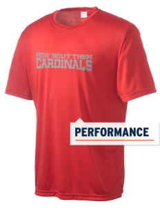 Mentor High School Cardinals Men's Competitor Performance T-Shirt