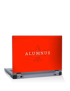 "Mentor High School Cardinals 15"" Laptop Skin"