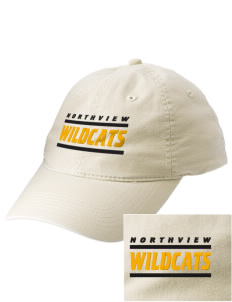 Northview High School Wildcats Embroidered Vintage Adjustable Cap