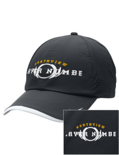 Northview High School Wildcats Embroidered Nike Dri-FIT Swoosh Perforated Cap
