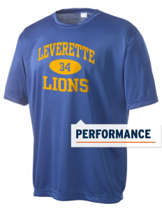 Leverette Junior High School Lions Men's Competitor Performance T-Shirt