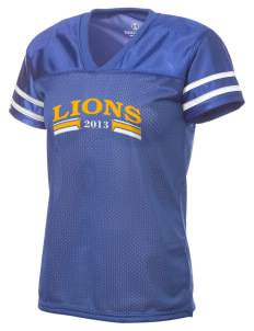 Leverette Junior High School Lions Holloway Women's Fame Replica Jersey