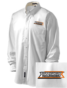 Bradford High School Railroaders Embroidered Men's Easy-Care Shirt