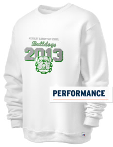 McKinley Elementary School Bulldogs  Russell Men's Dri-Power Crewneck Sweatshirt