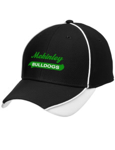 McKinley Elementary School Bulldogs Embroidered New Era Contrast Piped Performance Cap