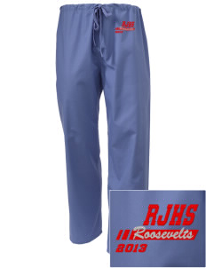 Roosevelt Junior High School Roosevelts Embroidered Scrub Pants