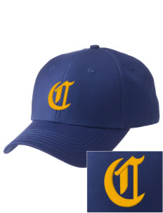 Clyde High School Fliers  Embroidered New Era Adjustable Structured Cap