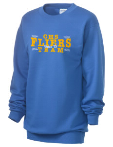 Clyde High School Fliers Unisex 7.8 oz Lightweight Crewneck Sweatshirt