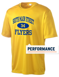 South Main Street Elementary School Flyers Men's Competitor Performance T-Shirt