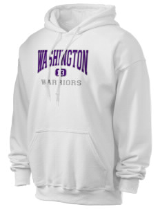 Washington School Warriors Ultra Blend 50/50 Hooded Sweatshirt