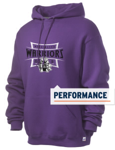 Washington School Warriors Russell Men's Dri-Power Hooded Sweatshirt