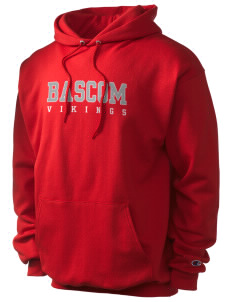 Bascom Elementary School Vikings Champion Men's Hooded Sweatshirt