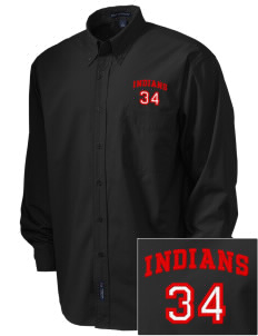 Rittman High School Indians  Embroidered Men's Easy Care, Soil Resistant Shirt