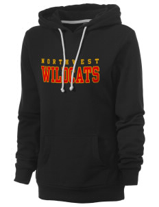 Northwest 6th Grade Center Wildcats Women's Core Fleece Hooded Sweatshirt