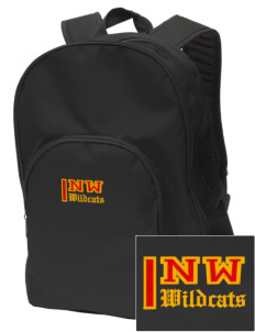 Northwest 6th Grade Center Wildcats Embroidered Value Backpack