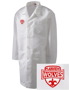 Plainview Elementary School Wolves Full-Length Lab Coat