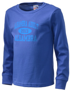 Alhambra Adult School Alhambra  Kid's Long Sleeve T-Shirt
