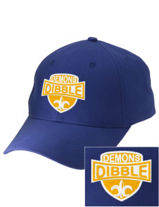 Dibble Senior High School Demons Embroidered Low-Profile Cap