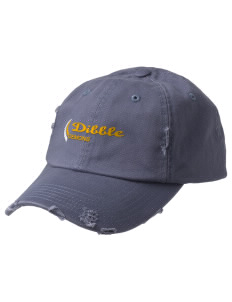 Dibble Senior High School Demons Embroidered Distressed Cap