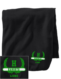 Haworth High School Lions Embroidered Holloway Stadium Fleece Blanket