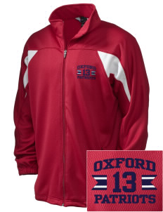 Oxford Academy Patriots Embroidered Holloway Men's Full-Zip Track Jacket