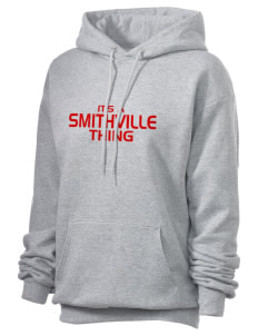 Smithville Elementary School Braves Unisex 7.8 oz Lightweight Hooded Sweatshirt