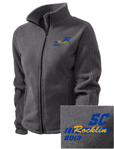 Sierra Christian School Rocklin Embroidered Women's Fleece Full-Zip Jacket