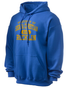 Sierra Christian School Rocklin Ultra Blend 50/50 Hooded Sweatshirt